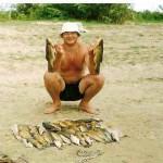 Методика ловли линя в ильменях Астраханской области